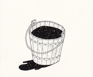 drawing, stars, and illustration image