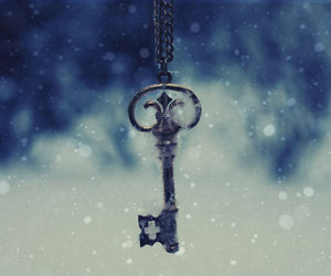 key, snow, and winter image