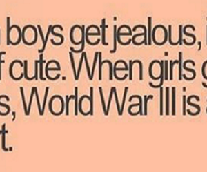 quote, jealous, and boy image