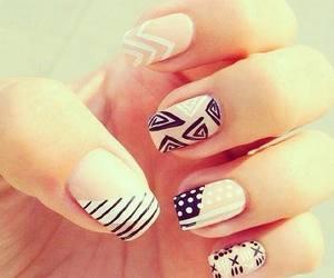 leopardo, nails, and rosa image