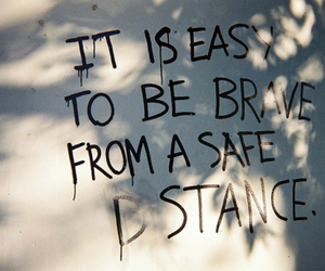 brave, text, and quote image