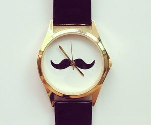 cute, girl, and mustache image