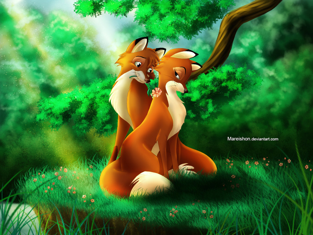 Tod And Vixey By Mareishon On Deviantart On We Heart It