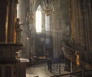 austria and vienna cathedral image