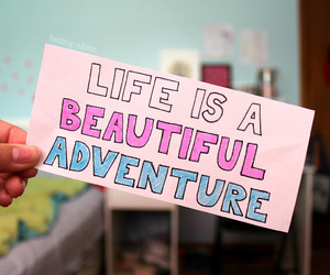 quote, adventure, and beautiful image