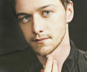 james mcavoy, actor, and blue eyes image