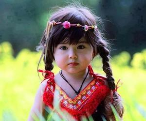 asian, little girl, and toddler image