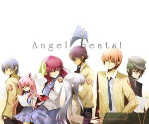 angel beats, anime, and angel beats! image