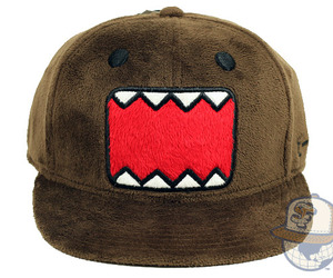 domo, hat, and domo fuzzy hat image