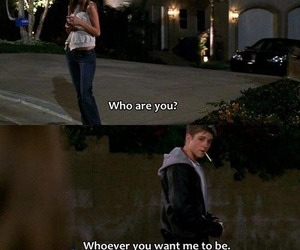 love, the oc, and quote image