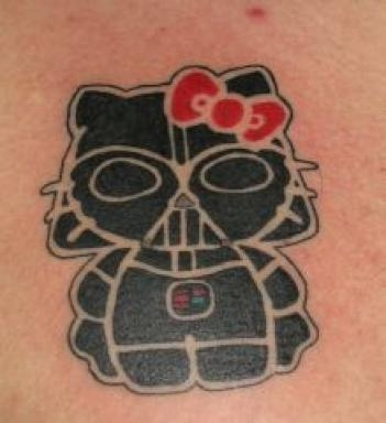 tattoo and hello kitty image