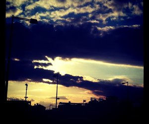 clouds, iphoneography, and dark image