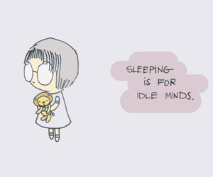 girl, text, and insomnia image