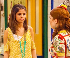alex russo, selena gomez, and wowp image
