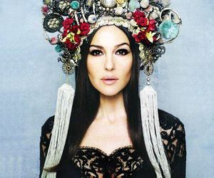 beauty, woman, and monica bellucci image