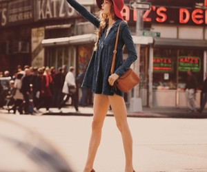 dress, Karlie Kloss, and model image