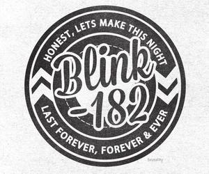 blink 182, blink-182, and first date image