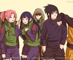 naruto, sasuke, and team 7 image