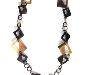 black, brown, and fashion jewelry image