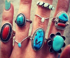 fashion, turquoise jewelry, and inspiration image