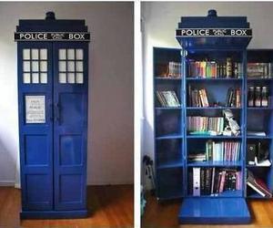 book, doctor who, and tardis image
