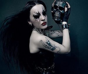 clothes, clothing, and goth image