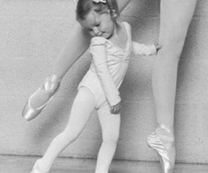 ballet, schoes, and little ballerina image