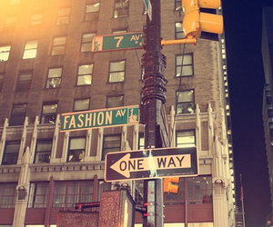 fashion, one way, and street image