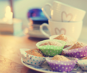 muffin, food, and cute image
