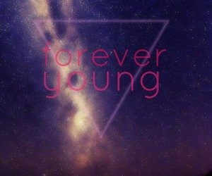 Forever Young, night, and love image