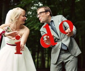 couple, cute, and marriage image