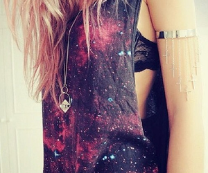galaxy, style, and hair image