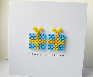 blue, card, and crafts image