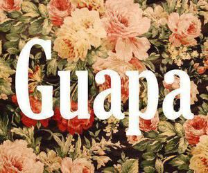 guapa and flores image