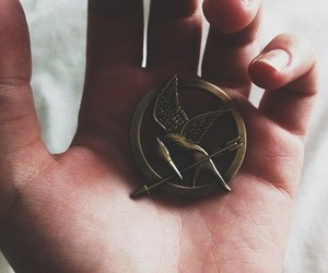 girl and the hunger games image
