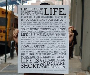 life, quotes, and text image