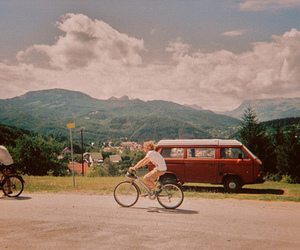 vintage, bike, and indie image