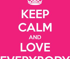 calm, everybody, and keep image
