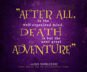 harry potter, dumbledore, and quote image