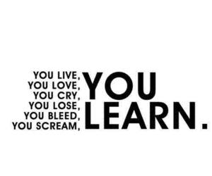 love, learn, and live image