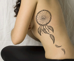 tattoo and dreamcatcher image