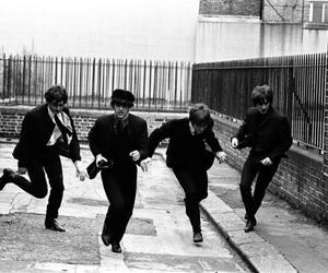 the beatles, beatles, and a hard day's night image
