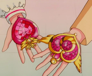 anime, sailor moon, and brooch image