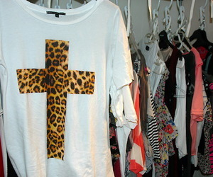 fashion, clothes, and cross image