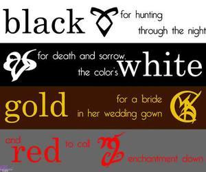 runes, shadowhunter, and black image