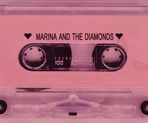 marina and the diamonds, pink, and music image