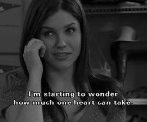 quote, heart, and one tree hill image