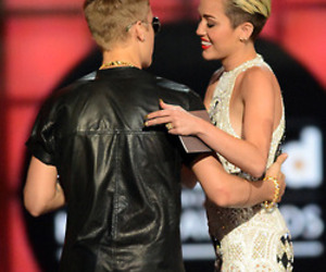justin bieber and miley cyrus image