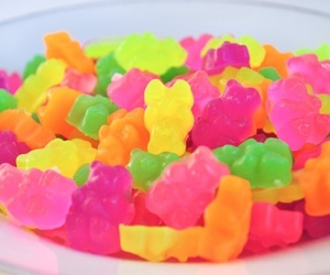 sweet, candy, and neon image