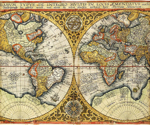 world map and 1590 image
